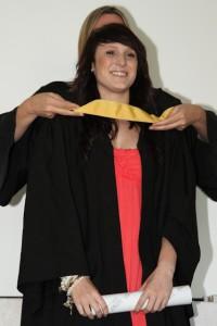 Fashion Design graduate Tamryn van der Merwe