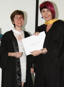 Fashion Design graduate Mia Kriek