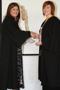 Fashion Design graduate Lizel Bekker and Marika Vorndran