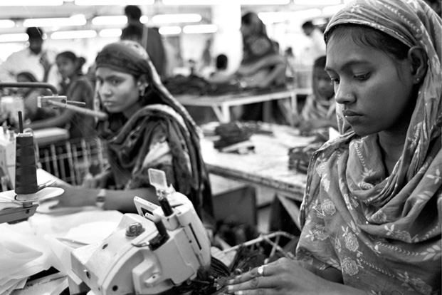 The real cost of fast fashion. Garment workers in Bangladesh