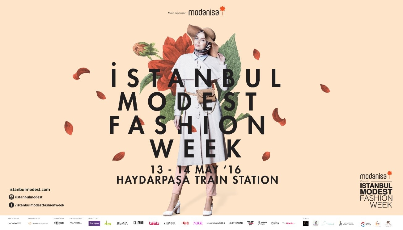 Istanbul Modest Fashion Islamic Dress Poster
