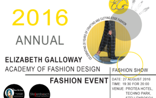 2016 Elizabeth Galloway Annual Fashion Show
