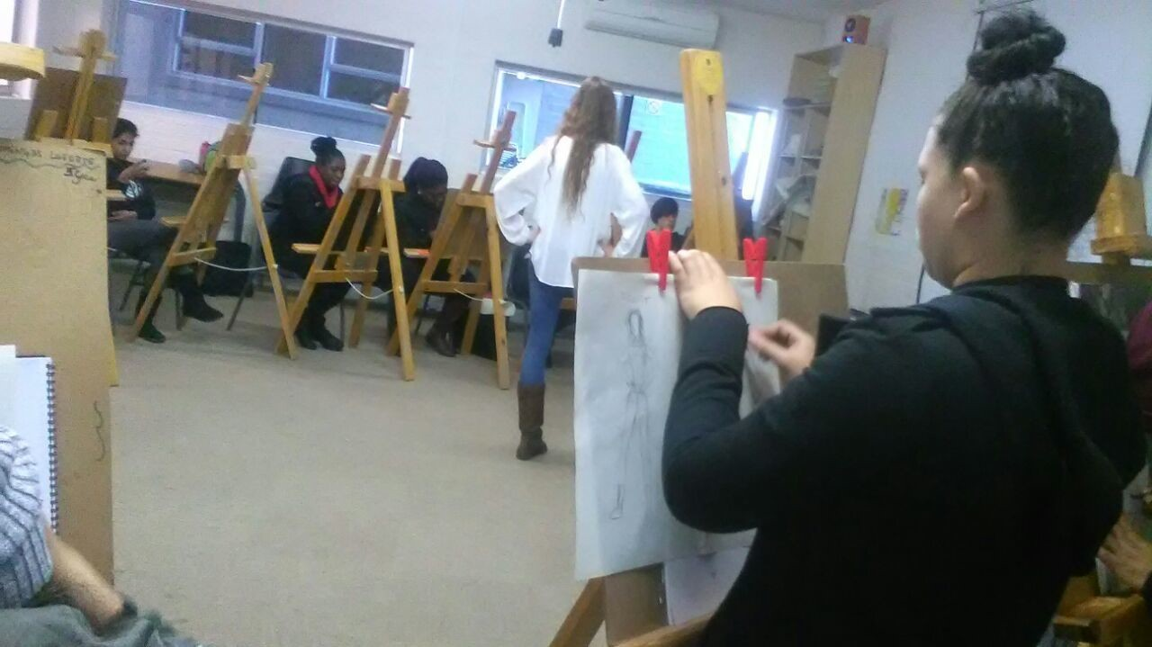 Gap Year : First years life drawing