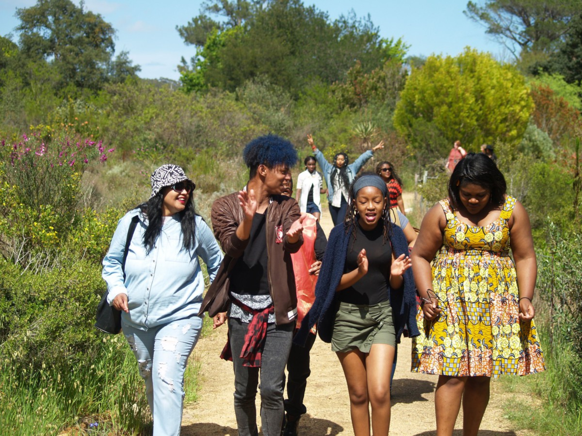 Gap Year : Stellenbosch nature reserve walk
