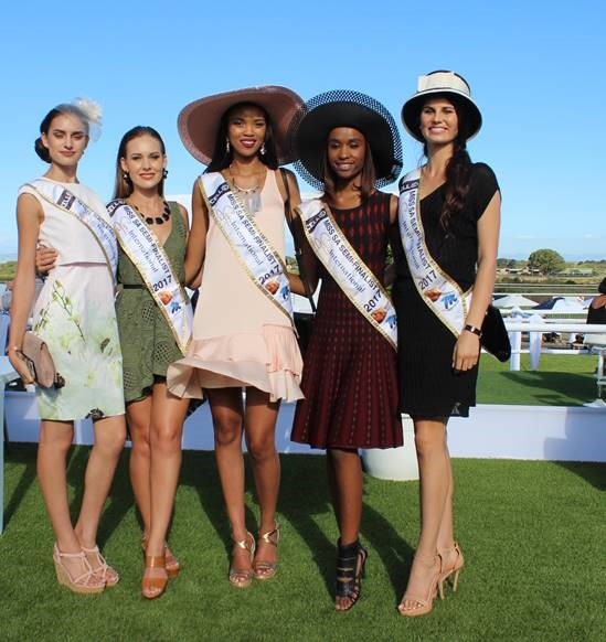 J&B Met Fashion: Miss SA Semifinalists.