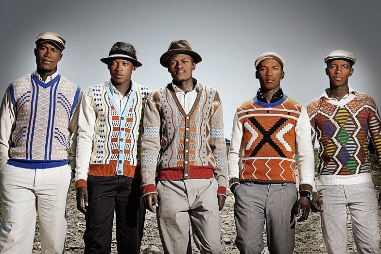 Designs from the MaXhosa range