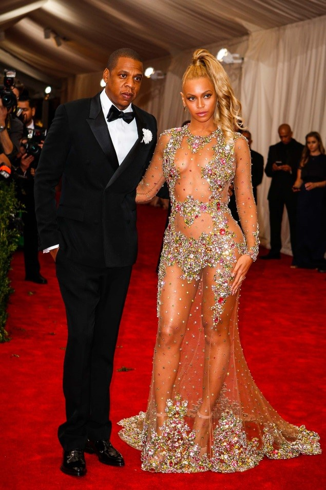 Jay Z and Beyoncé, in Givenchy