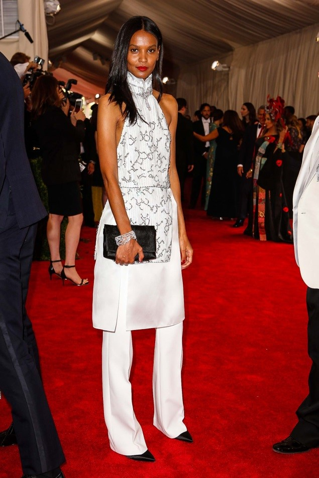 Liya Kebede, in custom 3.1 Phillip Lim