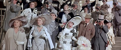 """""""Come on Dover! Move yer bloomin' *rse!"""" Eliza Doolittle cheering on her favourite."""