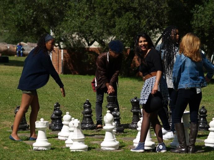 Gap Year : Stellenbosch nature reserve chess