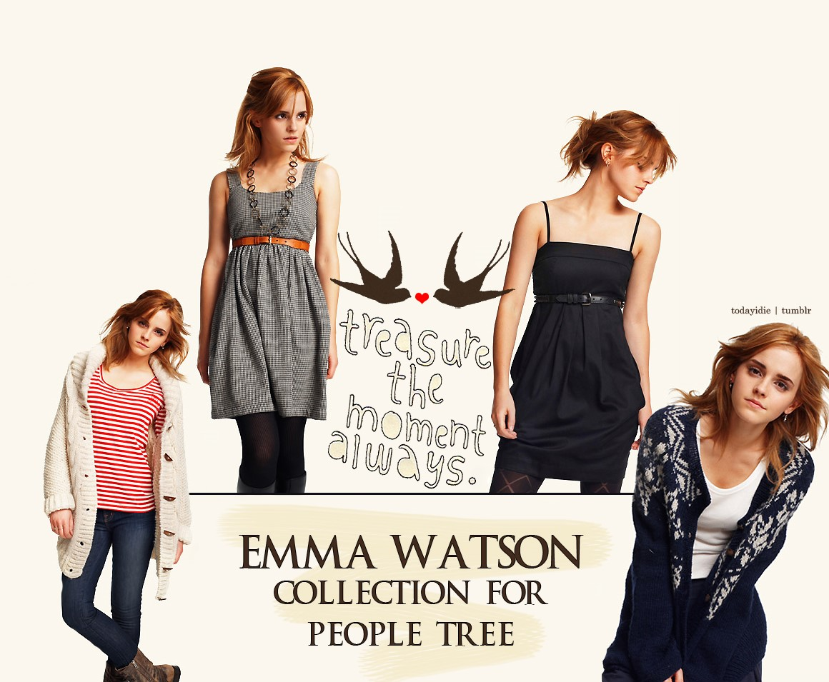 Eco friendly Emma Watson collection for people tree